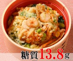 かき揚げ丼 [大豆米]